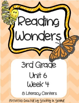 Reading Wonders Grade 3 Unit 6 Week 4
