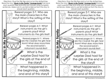 Reading Wonders Gr 2 Unit 1 Wk 2 Leveled Reader Activities