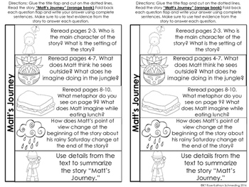 Reading Wonders Gr 2 Unit 6 Wk 5 Leveled Reader Activities