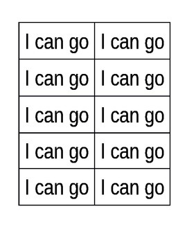 Reading Wonders Grade 1 SMART START Week 1 High Frequency Word Flashcards