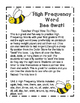 Reading Wonders Grade 1 Unit 2 High Frequency Word Bee Swat Center/Game!