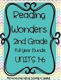 Reading Wonders Companion Pack Grade 2 FULL YEAR BUNDLE (All 6 Units=30 Weeks!)