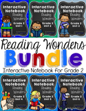 Reading Wonders Grade 2 Interactive Notebook Bundle