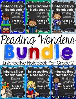 Reading Wonders Grade 2 Interactive Notebook Bundle