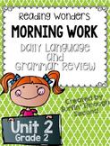 Grade 2 - Unit 2 - Morning Work - Language and Grammar Rev