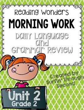 Reading Wonders Grade 2 - Unit 2 - Morning Work - Language