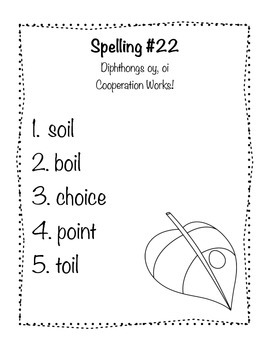 Reading Wonders Grade 2 Spelling List Unit: 5