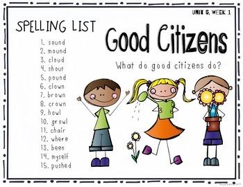 Reading Wonders Grade 2 - Spelling Word Work - Unit 5 - SUPER PACK