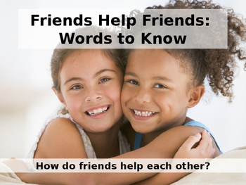 Reading Wonders Grade 2 Unit 1 Topic 1 Words to Know PPT