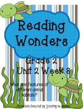 Reading Wonders Grade 2 Unit 2 Week 3