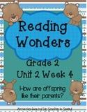 Reading Wonders Companion Pack Grade 2 Unit 2 Week 4