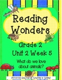 Reading Wonders 2013 Companion Pack Grade 2 Unit 2 Week 5