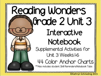 Reading Wonders Grade 2 Unit 3 Interactive Notebook/Anchor Charts