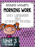 Grade 2 - Unit 3 - Morning Work - Language and Grammar-Dig