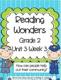 Reading Wonders 2013 Companion Pack Grade 2 Unit 3 Week 3