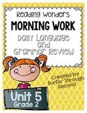 Grade 2 - Unit 5 - Morning Work - Language and Grammar-Dig