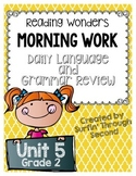 Grade 2 - Unit 5 - Morning Work - Language and Grammar
