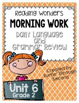 Wonders Grade 4 Unit 1 Grammar Daily Language Activities