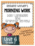 Grade 2 - Unit 6 - Morning Work - Language and Grammar