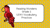 Reading Wonders Grade 2 Vocab Practice