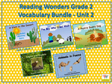 Reading Wonders Grade 2 Vocabulary Bundle Unit 2