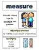 Reading Wonders Grade 2 Vocabulary Posters Unit 3