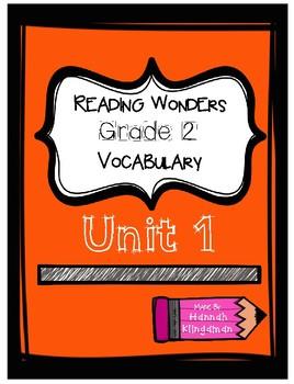Reading Wonders-Grade 2- Vocabulary-Unit 1
