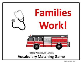 Reading Wonders Grade 2 Vocabulary Unit 1 Week 5
