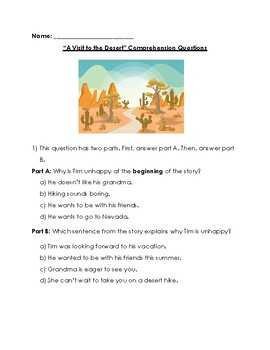 Reading Wonders Grade 2 Weekly FSA Style Practice Tests