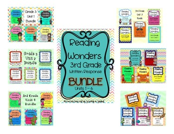 Reading Wonders 3rd Grade FULL YEAR BUNDLE