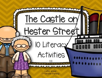 Reading Wonders Grade 3 The Castle on Hester Street 2.2 {Literacy Activities}