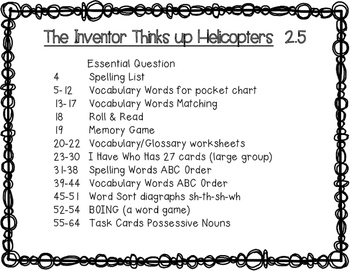 Reading Wonders Grade 3 The Inventor Thinks up Helicopters 2.5