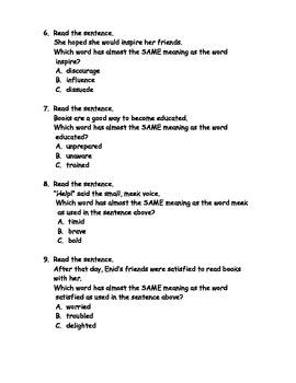 Reading Wonders Grade 3 Unit 1 Week 1 Comprehension Worksheets