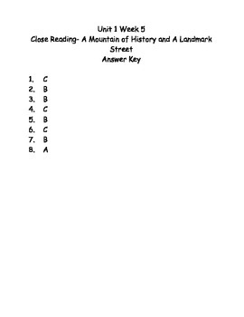 Reading Wonders Grade 3 Unit 1 Week 5 Comprehension Worksheets