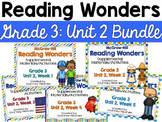 Reading Wonders Grade 3 {Unit 2  Bundle}