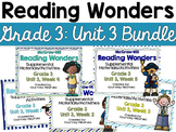 Reading Wonders Grade 3 {Unit 3 Bundle}