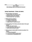 Reading Wonders Grade 3 Unit 3 Week 1 Comprehension Worksheets