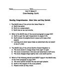 Reading Wonders Grade 3 Unit 3 Week 3 Comprehension Worksheets