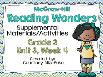 Reading Wonders Grade 3 {Unit 3, Week 4}