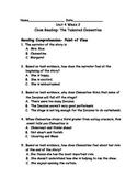 Reading Wonders Grade 3 Unit 4 Week 2 Comprehension Worksheets