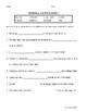 Reading Wonders Grade 3 - Vocabulary Test Unit 2 Weeks 1-5