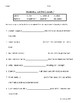 Reading Wonders Grade 3 - Vocabulary Test Unit 5 Weeks 1-5