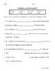 Reading Wonders Grade 3 - Vocabulary Test Unit 6 Weeks 1-5