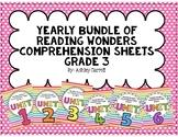 Reading Wonders Grade 3 Yearly Bundle