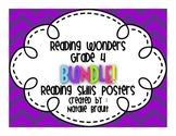 Reading Wonders Grade 4 Reading Skills Posters BUNDLE!!