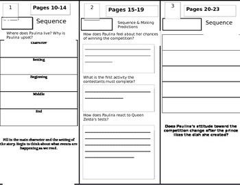 Reading Wonders Grade 4 Unit 1 Week 1 Tri-fold