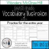 Reading Wonders Grade 4 Vocabulary Illustration Work