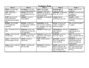 Reading Wonders Grade 5 Unit 1 Overview