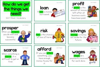 Reading Wonders Grade 5 Unit 1 Vocabulary
