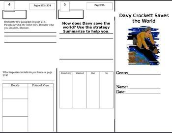 Reading Wonders Grade 5 Unit 4 Week 1 Tri-fold